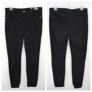 PISTOLA Black Stretch Skinny Jean Mid Waist Pants